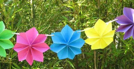paper flower garland5