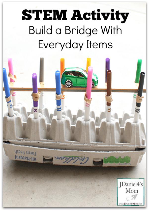 stem-activity-build-a-bridge-with-everyday-items-pinterest
