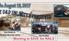 Ben Rounds Band Kicks Off Save The Rails Fundraiser