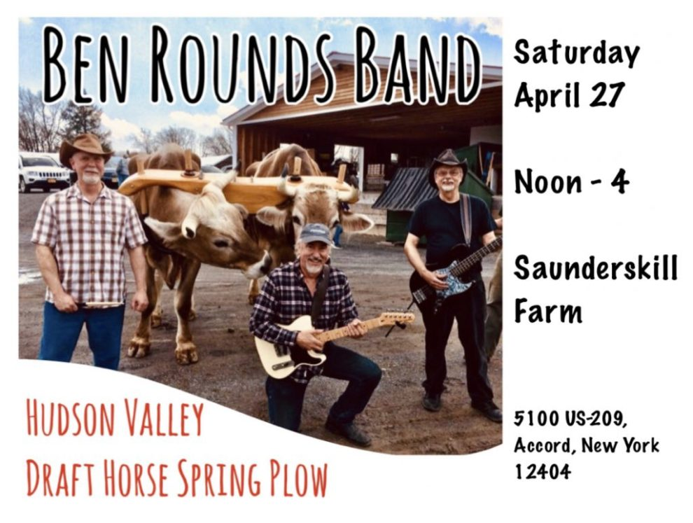 Ben Rounds Band at Hudson Valley Draft Horse Spring Plow