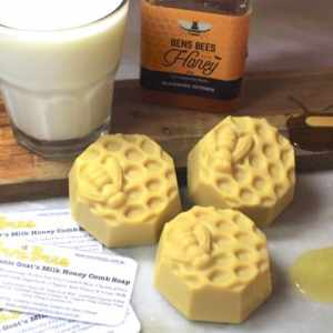 Organic Goats Milk & Honey Soap