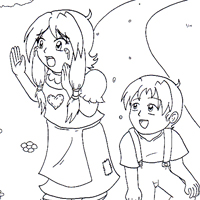 Fairy tales coloring pages for kids