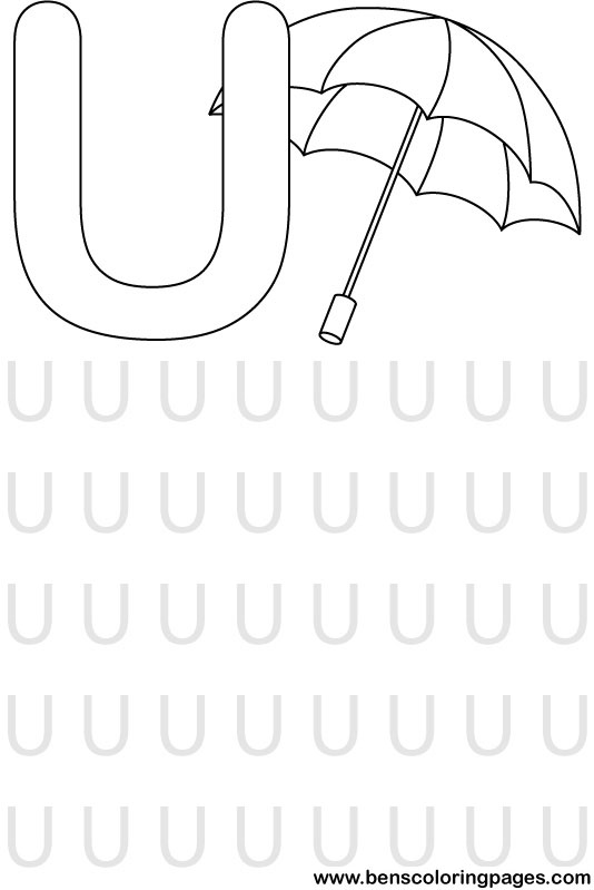 pre-school i letter Colouring Pages