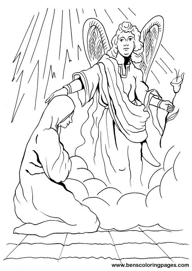 Free Coloring Pages Of Gabriel