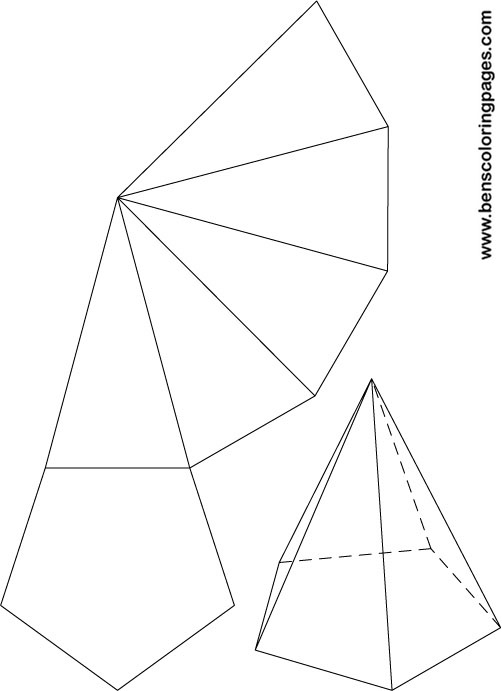 Math with Mrs. D: 3-D Figures (Pyramids and Curved Surface)