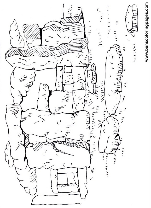 Stonehenge Schematic