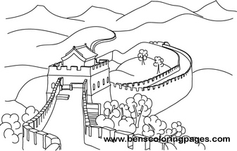 china coloring pages # 17