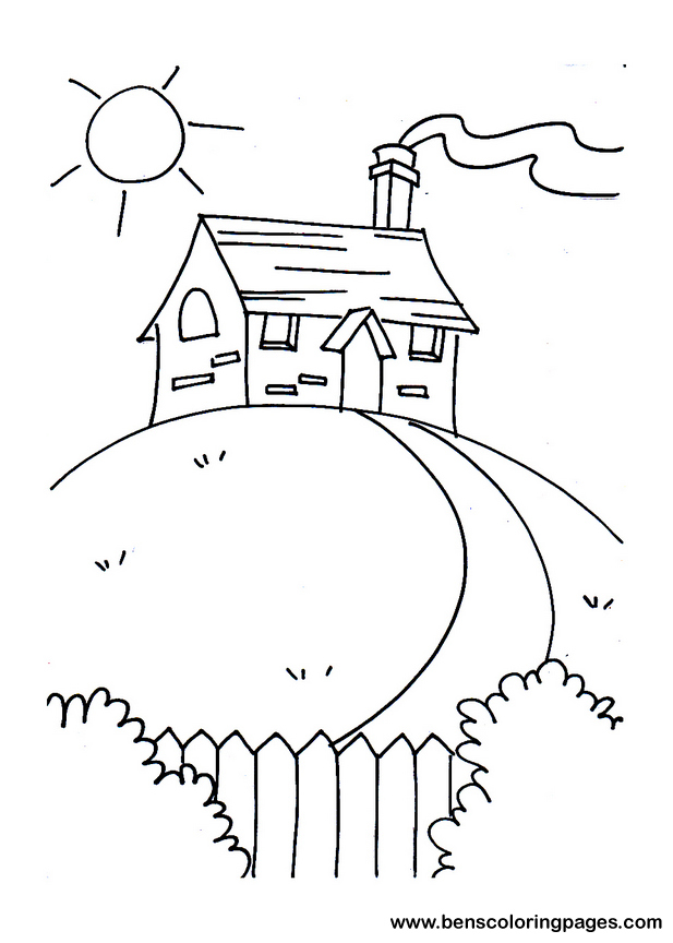 Little House On The Prairie Coloring Sheets Pictures to