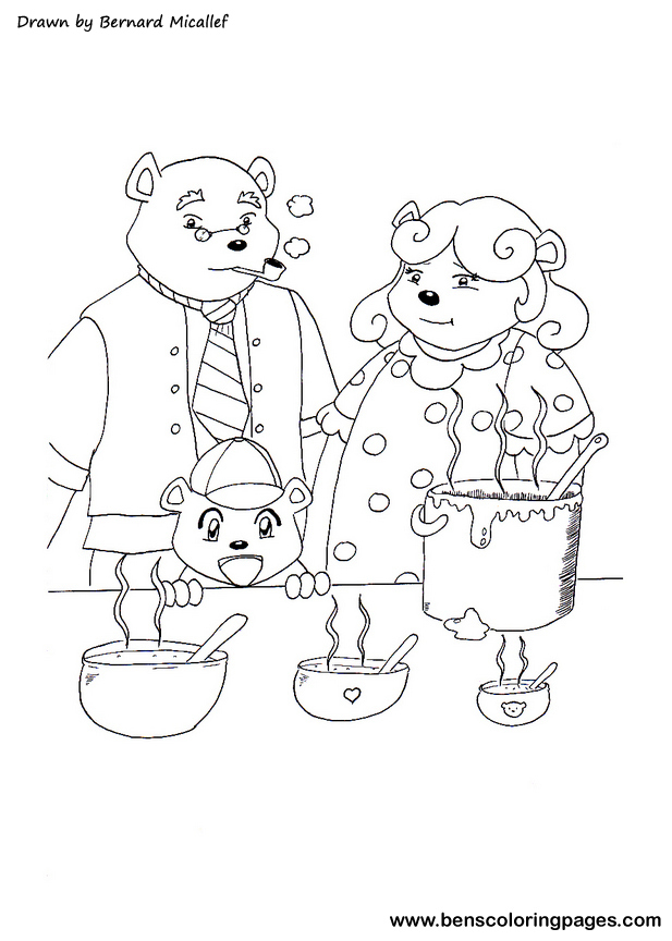 three little bears story online