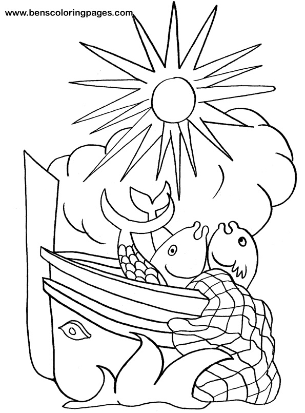 Paul Shipwrecked Coloring Page Coloring Pages