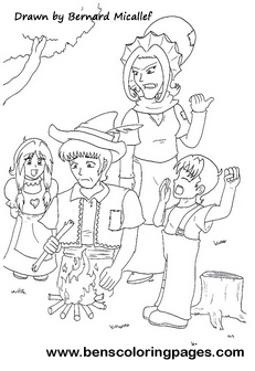 Fairies coloring pages for kids
