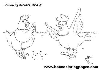 Chicken licken meets hen len