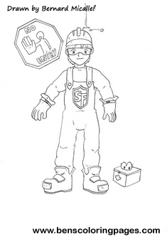 PPE personal protective equipment coloring page