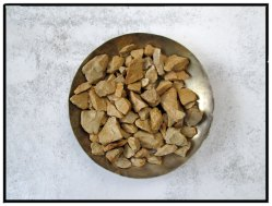 brass scent dish