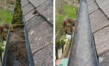 residential gutter cleaning wolverhampton