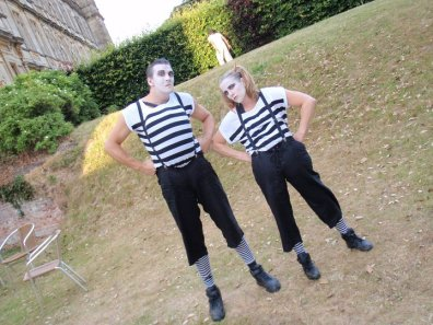 Mime Actors and entertainers Bensons Agency