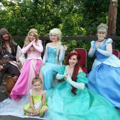 Childrens Entertainers Disney Princesses