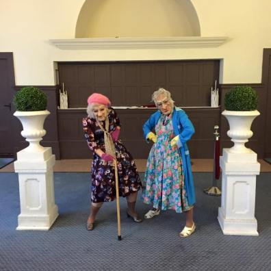 Dancing Grannies Bensons Agency