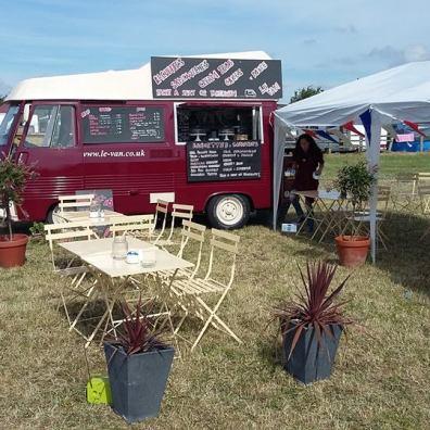 Pop Up Food Van Bensons Agency