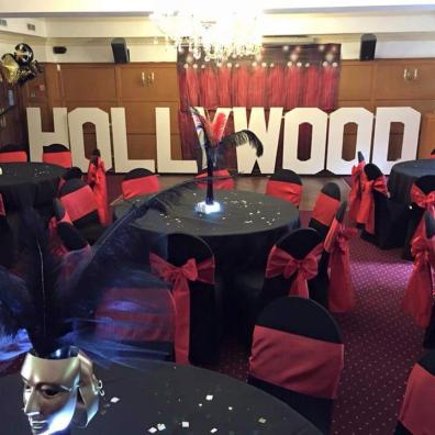 Room Decor Hollywood casino theme