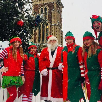 Christmas grotto staff