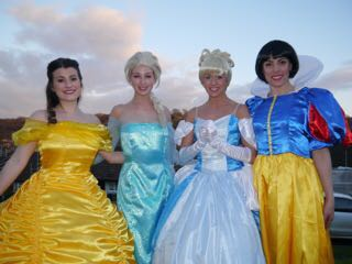 Disney Princesses available for hire