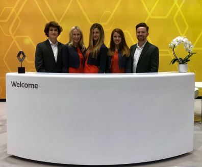 Brand Ambassadors at Commercial Vehicle Show