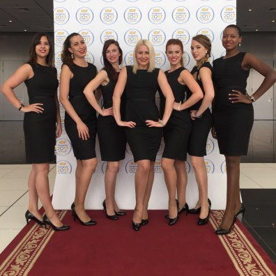 Hostesses and exhibition stand support at pharmaceutical conference