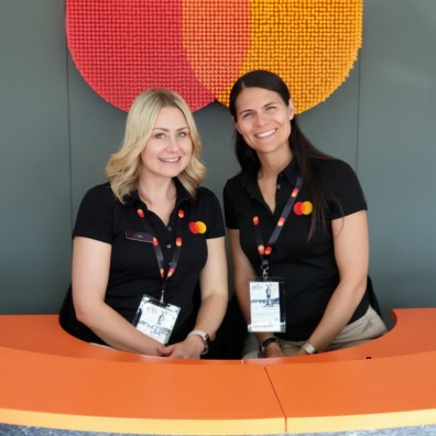 Event staff for Mastercard experiential marketing
