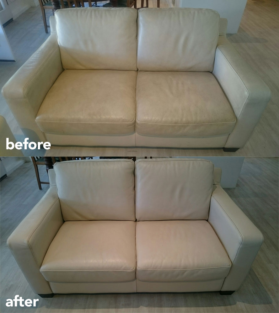 steam clean leather sofa fast upholstery cleaning (couch & lounge) in adelaide