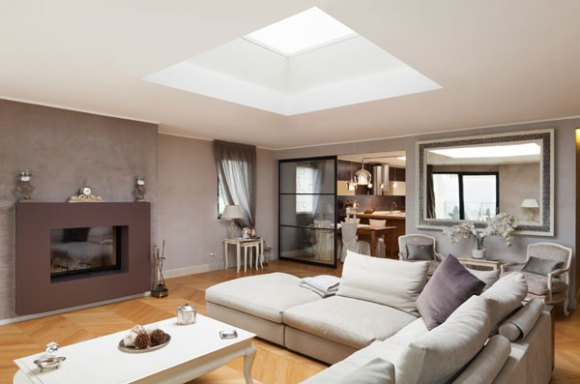 Residential Roofing with Skylights for Daylighting