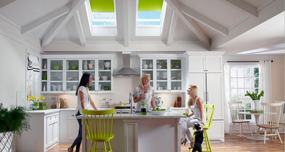 VELUX® Skylight Installation for Kitchen Daylighting
