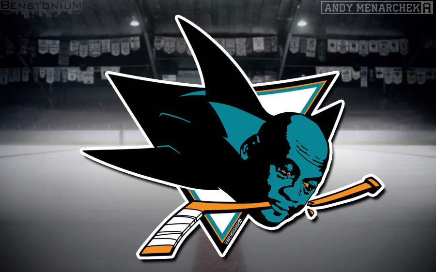 Sharks Crying MJ Logo  Benstonium