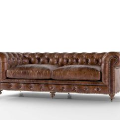 Kensington Leather Chair Inexpensive Covers For Weddings Sofa Restoration Hardware