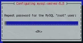 Confirmation du mot de passe