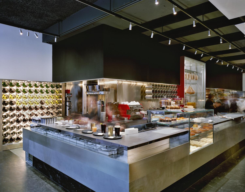 Cafe 2 at MoMA  Bentel  Bentel ArchitectsPlanners AIA