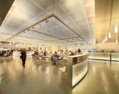 hofstra university axinn library