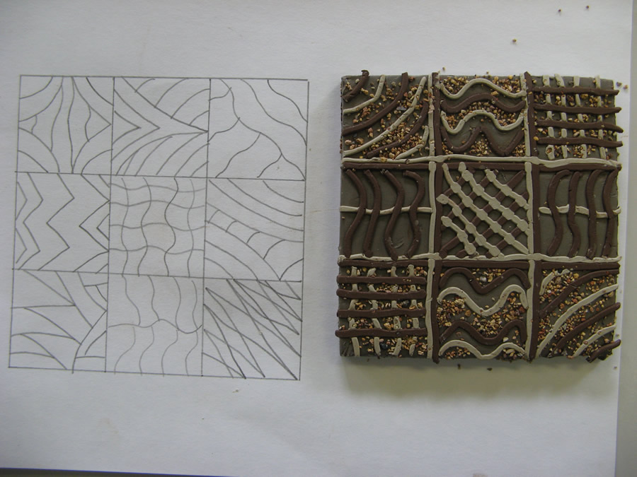 Tile and design