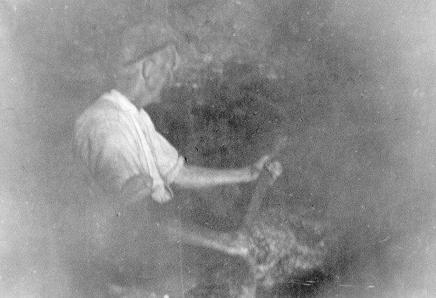 James Singleton mining the Burton-in-Lonsdale clay