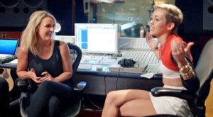 Miley Cyrus Cracks Up Britney Spears, Talks VMAs in Miley: The Movement Trailer