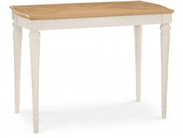 montreux pale oak antique white bar table