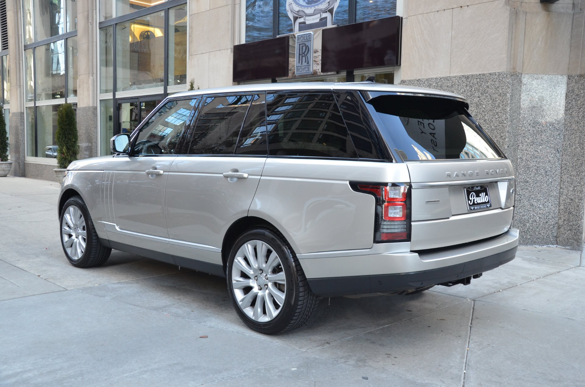 2015 Land Rover Range Rover Supercharged Stock B882A for sale