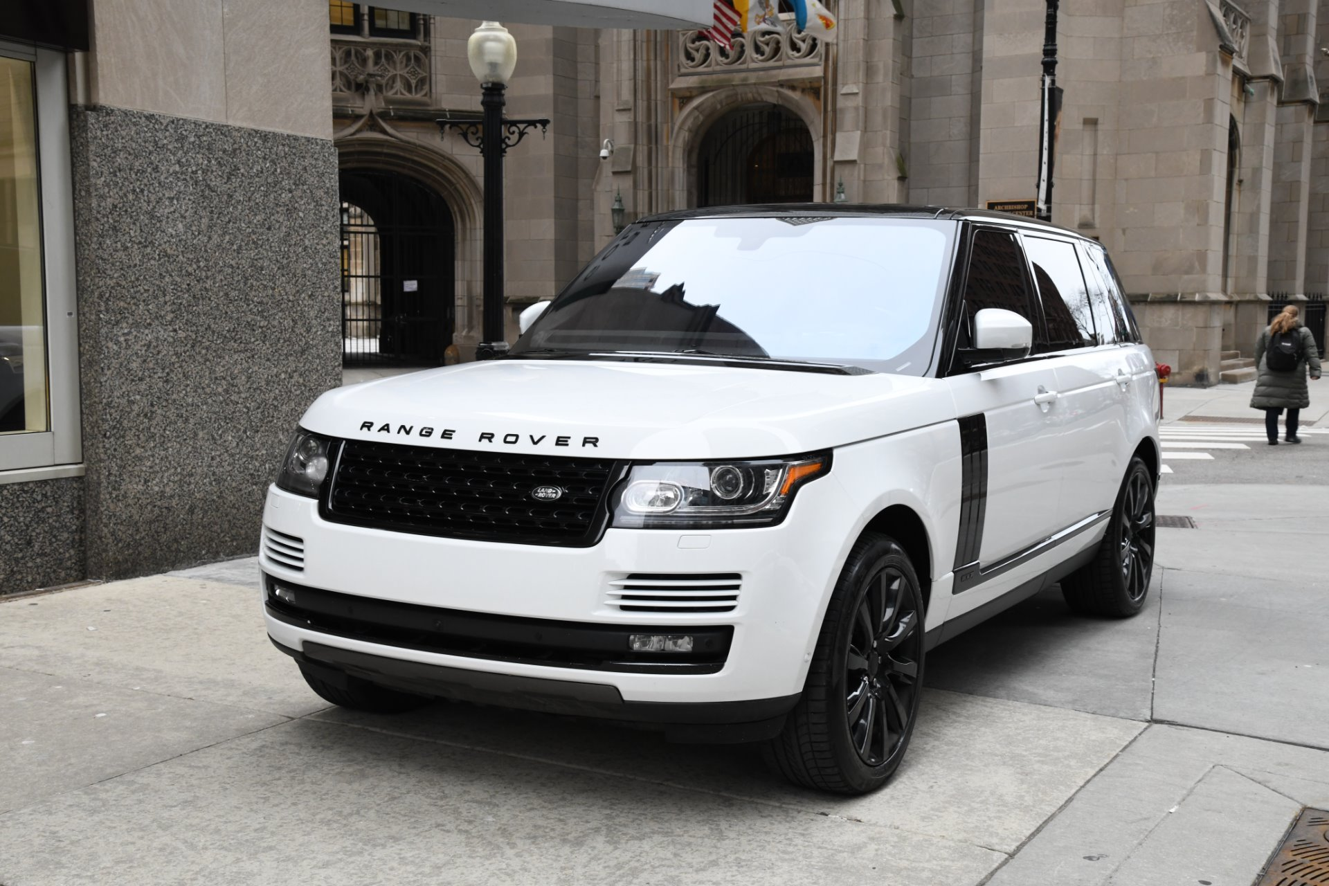 hight resolution of used 2016 land rover range rover supercharged lwb chicago il