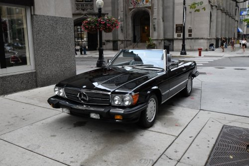 small resolution of used 1989 mercedes benz 560sl 560 sl chicago il