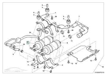Bentley Arnage Azure & Brooklands Fuel Pump