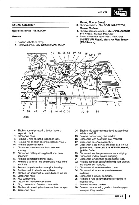 2004 land rover discovery engine