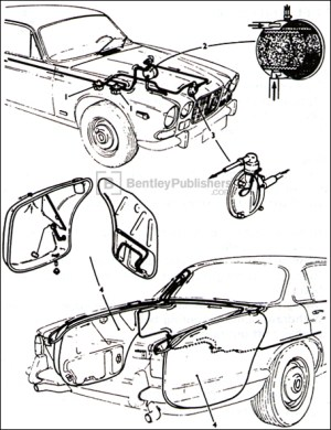 0  Jaguar Repair Manual  Jaguar XJ6 Series 1, 28 and 4
