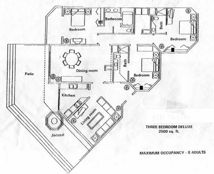 Suite Room Plan
