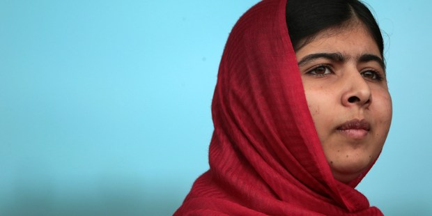Malala Yousafzai: Bummed out but will bounce back.