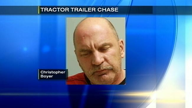 Truck driver Christopher Charles Boyer, 47, was arrested this weekend / Pennsylvania State Police Source: AP